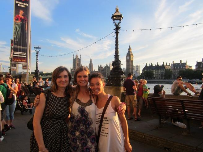Goodbye London, July 2013.