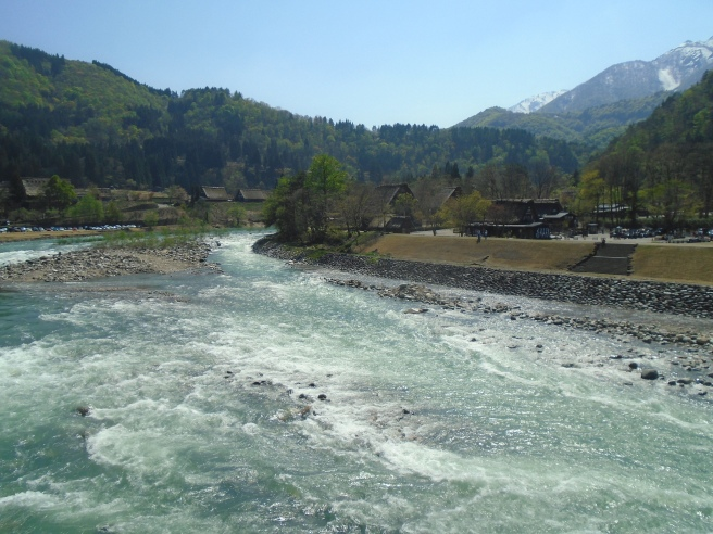 Sho River, Shirakawa, Japan. May 2015