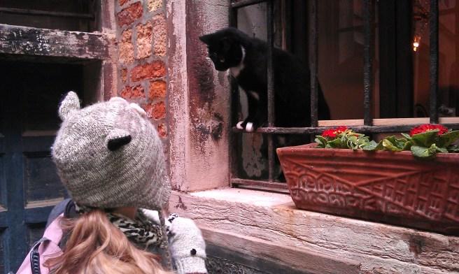 A balcony scene - Venice, Italy, 2013.